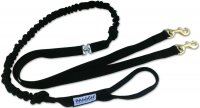 Baggen Running Leash Double Black