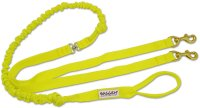 Baggen Running Leash Double Yellow